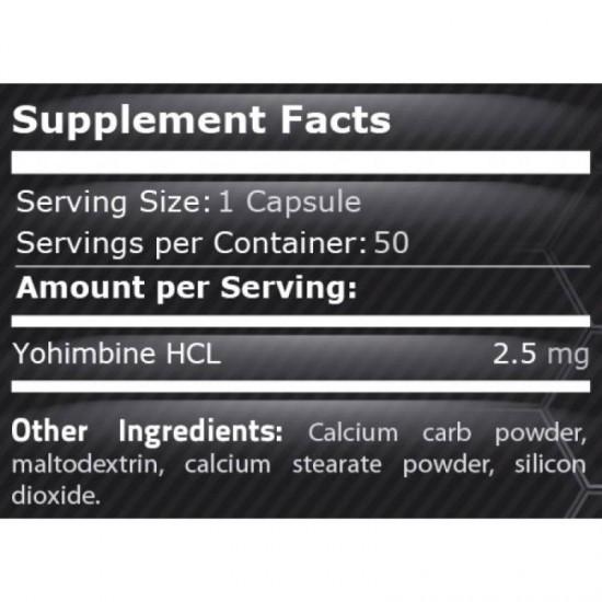 100 pure yohimbine Pure Nutrition