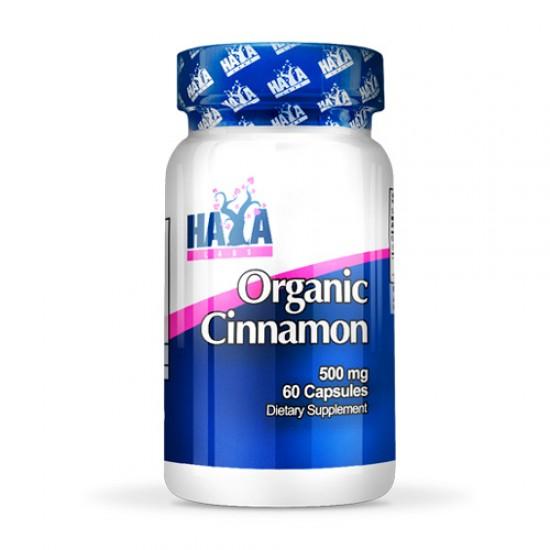 Organic Cinnamon Haya labs 500mg 60 caps