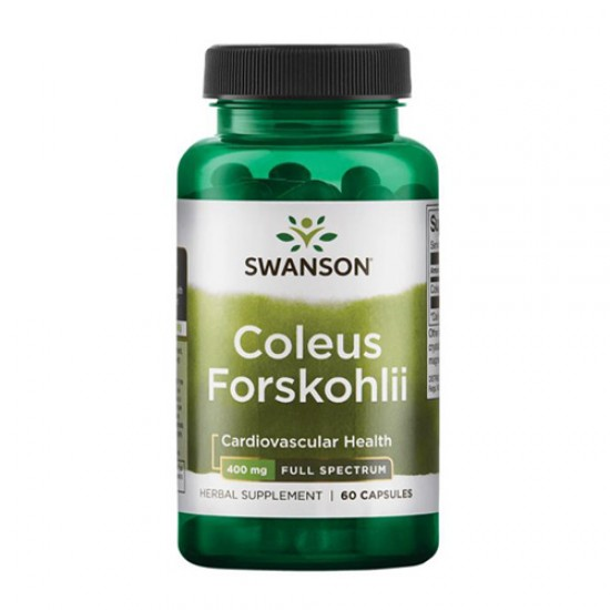 Swanson Coleus Forskohlii 400 mg 60 Caps